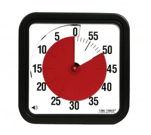Time Timer Large met optioneel eindsignaal