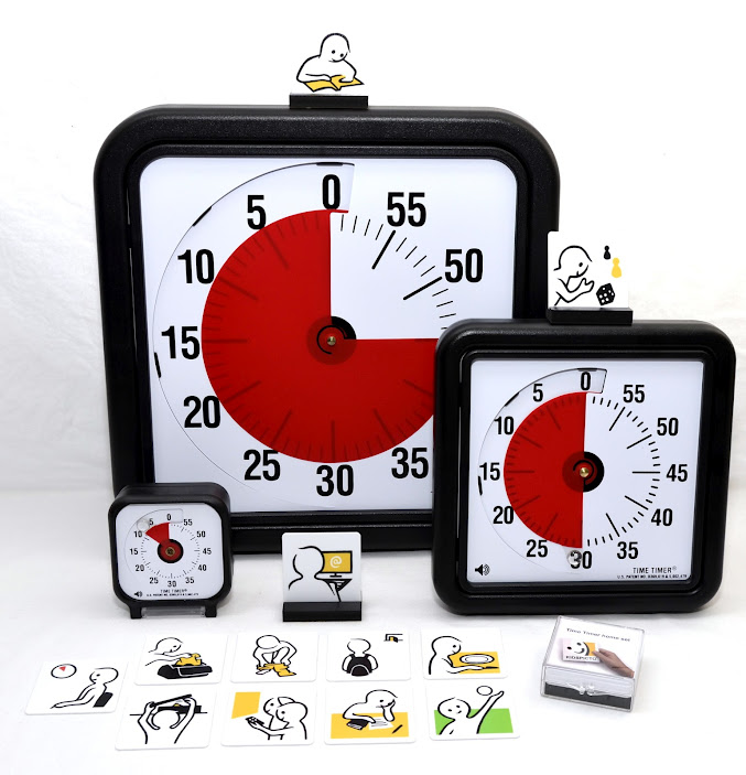 Time Timer with pictograms