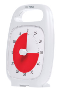 JAC5030 -Time Timer PLUS, white (side)