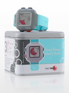 Time Timer horloge Plus - junior - turquoiseblauw