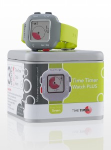 Time Timer horloge Plus - junior - limegroen