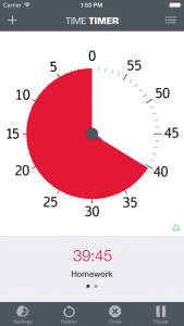 Time Timer App IPhone iOS