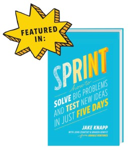 Book Sprint by Jake Knapp