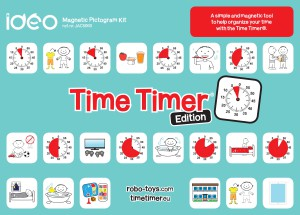 JAC5060 - Magnetic Pictogram Kit - Time Timer edition
