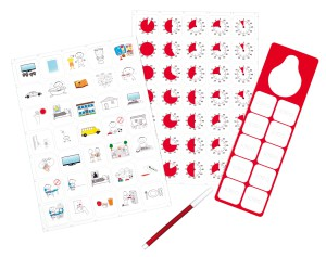 JAC5060 - Time Timer Magnetic Pictogram Kit