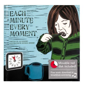 "Kinderboek ""Each Minute, Every Moment"""